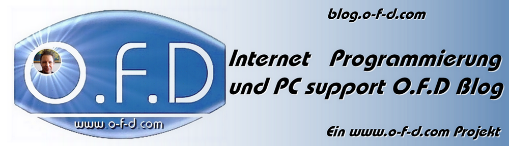 OFD internet programmierung pc support blog