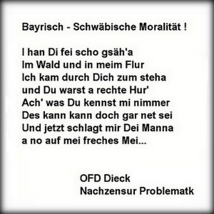 24-300x300 in 12 -  Bayerisch Schwäbische Moralität / political cartoon by O.F.D