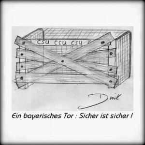 6-300x300 in 5 -  Sicher ist sicher ! / political cartoon by O.F.D