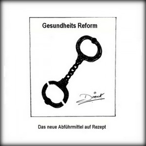 8-300x300 in 21 -  Gesundheits Reform / political cartoon by O.F.D