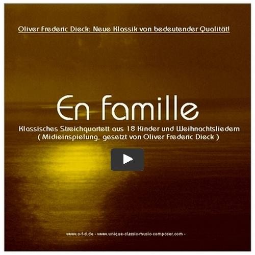 En Famille - Kinder und weihnachtslieder als Streich Quartette